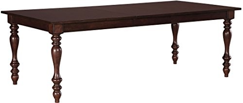 Ashley Furniture Signature Design - Baxenburg Dining Room Table - Separate Extension Leaf Included - Traditional - Brown (Casual Contemporary Dining Room)