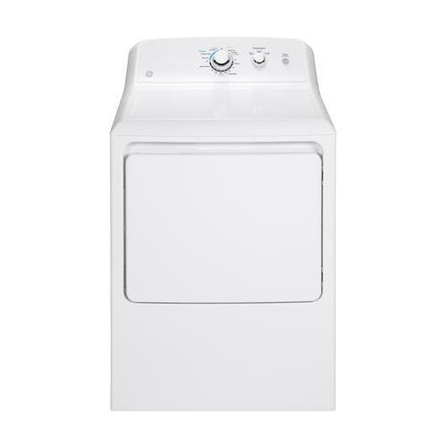 Propane Dryer - GE GTX33GASKWW Aluminized Alloy Drum Gas Dryer, 6.2 Cu. Ft. Capacity, 3 Cycles, White,