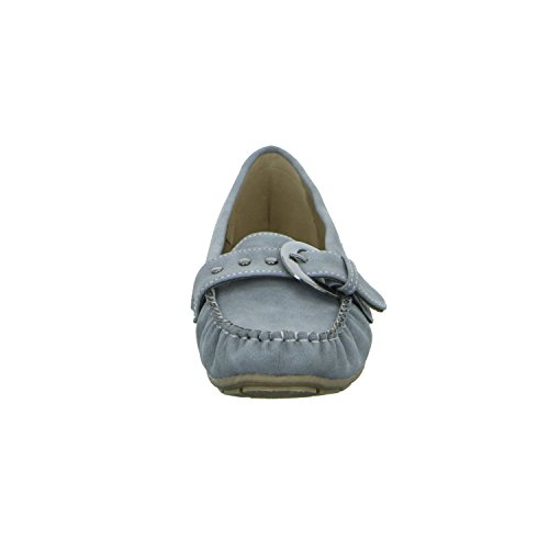 Alyssa XY0429-11 Damen Slipper Halbschuh Casual Grau (Grau)