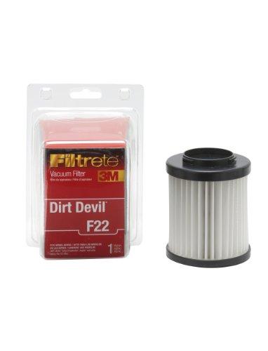 3m - Dirt Devil F22 Filter - White