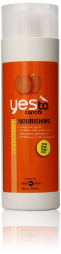 Yes To Carrots Nourishing Conditioner, 16.9-Ounce Bottles (Pack of 2)