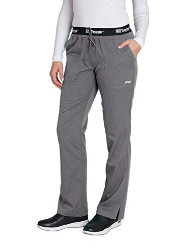 Grey's Anatomy Active 4275 Drawstring Scrub Pant Granite M ()