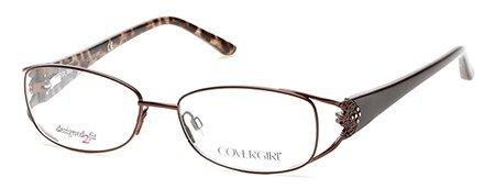 COVER GIRL Eyeglasses CG0448 049 Matte Dark Brown