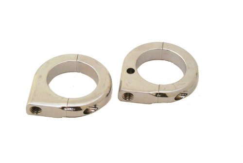 70 mm Chrome Finish LSM048-37570 Billet Tube Clamp For Pivot - Billet 70mm
