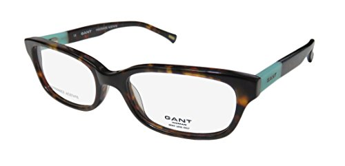 Gant 4003 Womens/Ladies Cat Eye Full-rim Flexible Hinges Eyeglasses/Glasses (52-17-140, Tortoise / - Gant Glasses