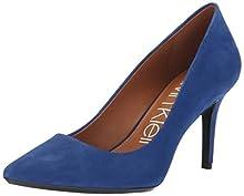 Calvin Klein Women's Gayle Pump, Adrenaline Blue, 9 Medium US