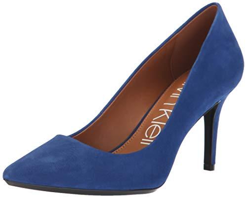 Calvin Klein Women's Gayle Pump, Adrenaline Blue, 8 Medium US