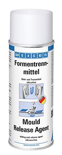 WEICON 11450400 Mould Release Agent / 400ml / hoogwaardige siliconenvrije lossingsspray/voorkomt effectief verkleving…
