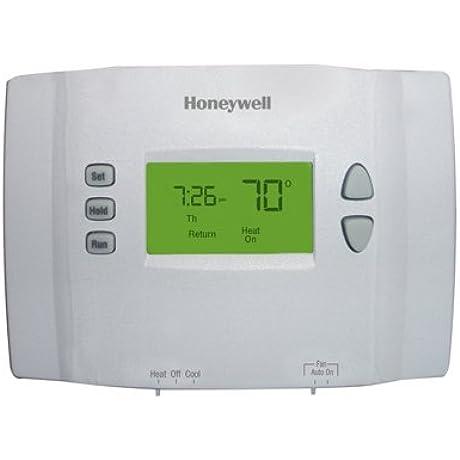 Honeywell Programmable Thermostat Set Point Heat Cool 24 V