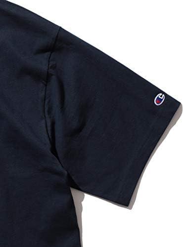 /半袖カットソー Champion × BEAMS 別注 ビッグ フェイク Tシャツ メンズ