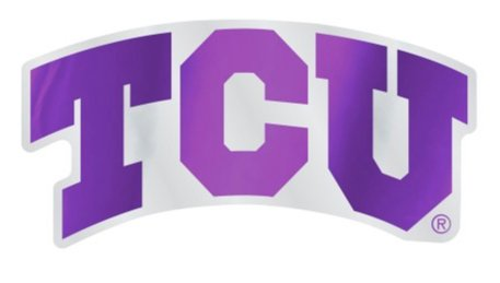 WinCraft NCAA Texas Christian University TCU Horned Frogs 4.85