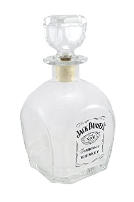 Jack Daniels 'No. 7' Glass Whiskey Decanter