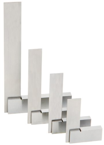 Woodstock D4089 Machinist Square Set, 4-Piece -