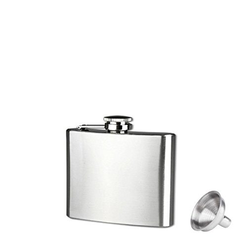 Stainless Steel 10oz Alcohol Flask - 5