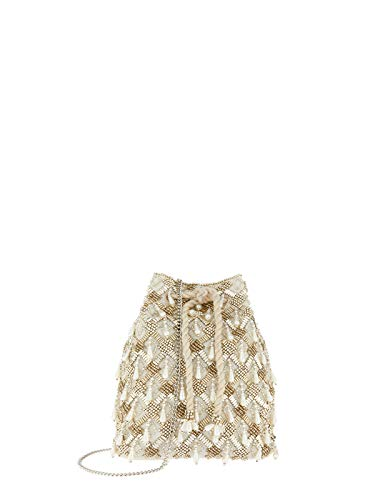 Drawstring Shopper Bag - Maisie Beaded Duffle Bag Shoppers & Totes - One Size