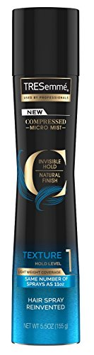 Tresemme Compressed Micro Mist Texture #1 Hold 5.5 Ounce (162ml) (Texture Mist)
