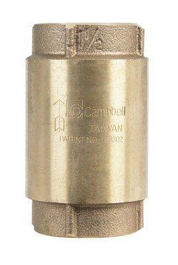 Brass Check Valve 1-1/2' Campbell CV-6T 43253