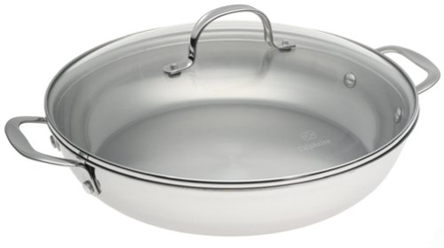 Calphalon Tri-Ply Collector's Edition 12-Inch Everyday Pan with Lid by Calphalon
