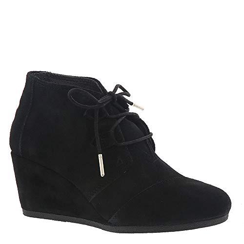 TOMS Black Suede 10012955 Kala Booties Women's Size 10