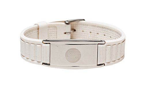 Satori 4 in 1 Negative Ion Band (White), Now Available in US with a 4.5 Star Amazon Rating in UK/Euro, Germanium, Silicone,Charged with Negative Ions, The Ionic Wristband and Stylish Therapy Bracelet