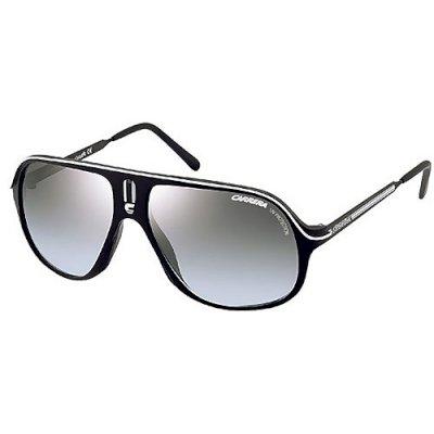 4151bc9ec9 Carrera Gafas de sol Safari/O - 8XD/HL: Negro/Plata: Amazon.es: Ropa y  accesorios