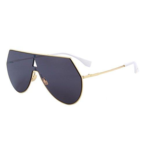 mujeres gafas TIANLIANG04 Black Los sol de C03 hombres integrado bastidor C01 Gran Azul rqEtwE