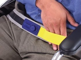 AliMed E-Z Release Seat Belt with IQ Duo Plus Alarm by E-Z Release