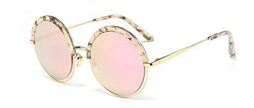 GAMT Classic Round Sunglasses Metal Full Frame Fashion Eyewear for Men and Women - James Sunglasses Bond