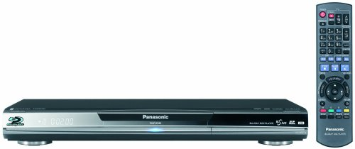 Panasonic DMP-BD80 High Clarity Audio Blu-ray Disc Player, (Panasonic Viera Link)