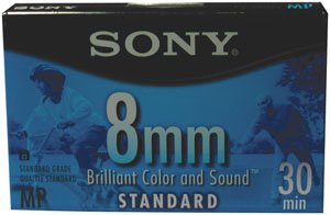 Sony Video 8 Standard Grade Metal Particle Video Cassette