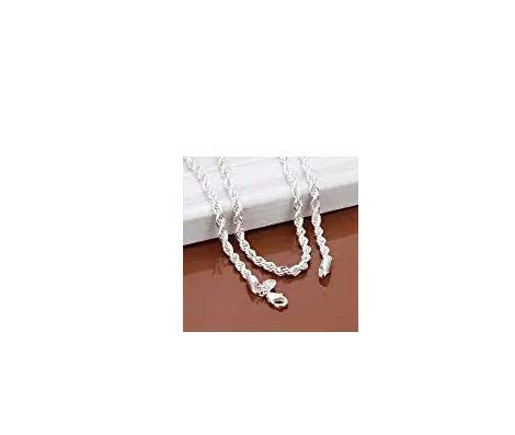 - Fashion Snake Rope Chain 925 Sterling Silver Men Women Jewelry Necklace 16-30'' BySumanee (18)