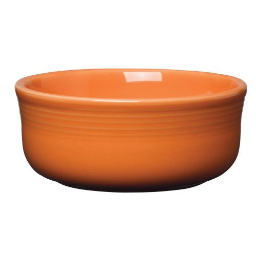 Homer Laughlin 576325 Fiesta Tangerine 18 Oz Chowder Bowl - 6 / -