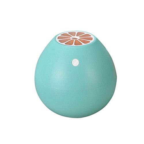Humidifier,400ML Grapefruit-Shaped Humidifier Silent Mini Fruit