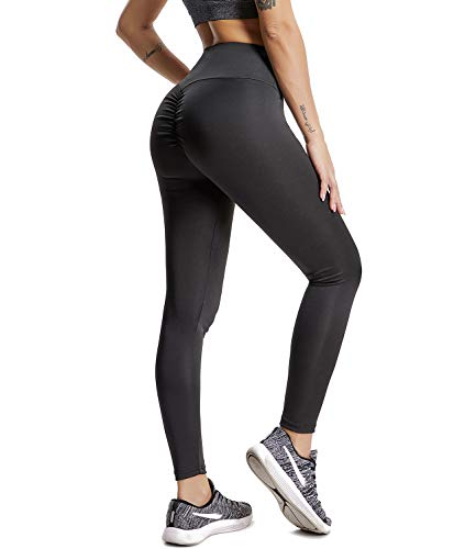 online store a348d bbbbc CFR 2018 New Sexy Women Ruched Fitness Leggings Butt Push Up Lifted Yoga  Pants High Waist