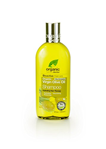 Organic Doctor Organic Virgin Olive Oil Shampoo, 9 fl.oz.