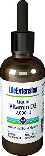 Life Extension Vitamin D 2000 IU Emulsion, 1 Ounce