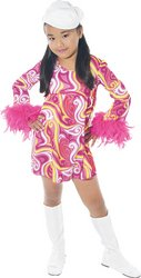Paper Magic Group Go-Go-2 Girl's Costume, Medium 7-8 (Paper Magic Group Costumes)