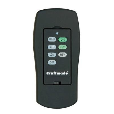 Craftmade AT-ICS-W, Wall Control with Clamshell Remote, 3 Fa
