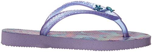 Havaianas Kids Slim Summer Sandal, Lavender 23/24 BR/Toddler (9 M US) - Image 7