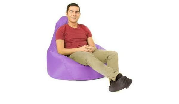 Color exterior resistente al agua puf jardín reposera silla asiento Gamer: Amazon.es: Jardín