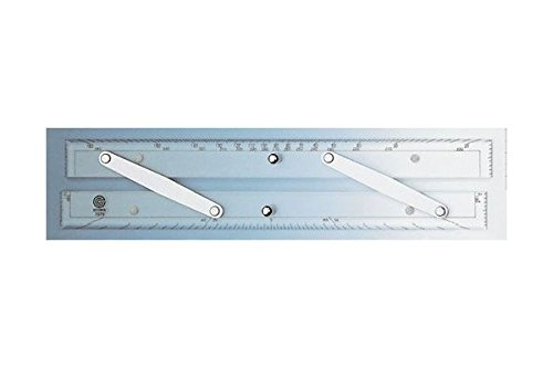 Ecobra Parallel Lineal 12 30,5cm mit nautischer Teilung