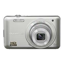 Olympus VG-130 - Cámara Digital Compacta, 14 MP (3 pulgadas, 5x Zoom óptico) - Plata