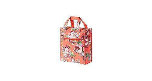 Basil Fahrradschultertasche Blossom Roses-Shopper Koralle