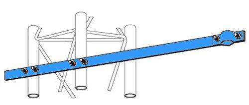 Genuine ROHN UHF25G Side Arm Mount for UHF & FM Antennas