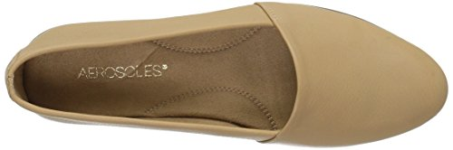 Aerosol Donna Fashion Setter Slip-on Mocassino In Pelle Color Cuoio Chiaro