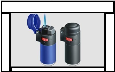 Rubber Coney Lighter With Flame Lock, Windproof Lighter, Electronic...