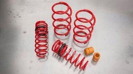 Genuine Toyota PTR07-02140 TRD Lowering Spring