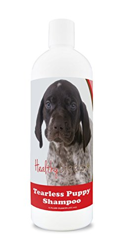 (Healthy Breeds Puppy Shampoo & Conditioner Tear Free for German Shorthaired Pointer - OVER 100 BREEDS - Nourishes & Moisturizes for Growth - Safe with Flea and Tick Topicals - 16 oz)