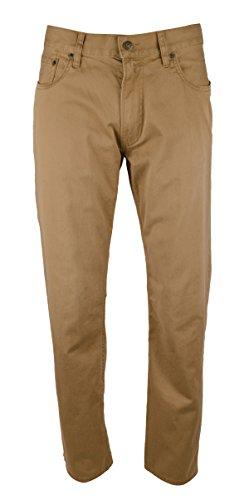 Polo Ralph Lauren Men's Flat Front Straight-Fit Pants, W36/L32 , Montana Khaki -