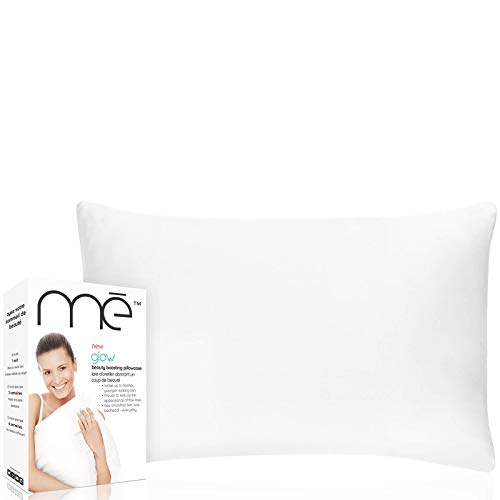 me. Glow Beauty Boosting Pillowcase - for Fine Lines/Wrinkles Reduction, Hair Smoothing w/Anti-Aging Copper Technology